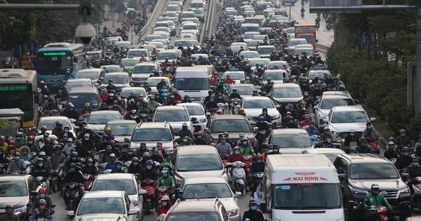 """Bốnquận nội đô Hà Nội: Chờ quy hoạch tháo """"điểm nghẽn"""""""