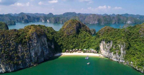 Resort bằng tre tuyệt đẹp trên vịnh Lan Hạ, Hải Phòng