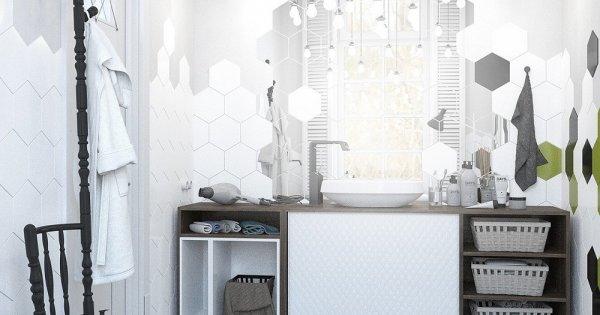 Những mẫu nhà tắm đen - trắng ấn tượng cho ngôi nhà hiện đại