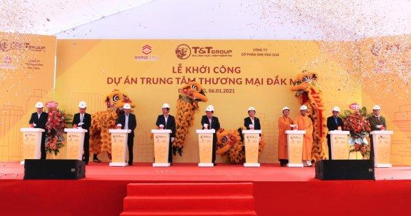 WorldSteel Group khởi công xây dựng trung tâm thương mại tại Đắk Nông