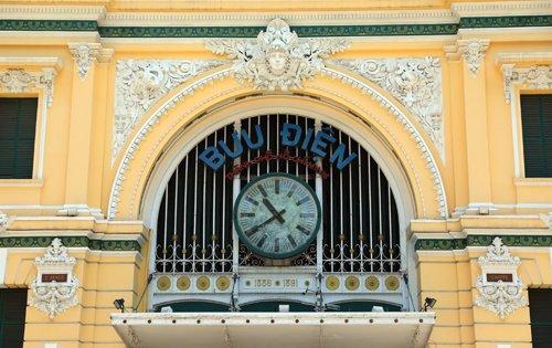 Kiến trúc vòm cung độc đáo bên trong tòa nhà Bưu điện Trung tâm Sài Gòn
