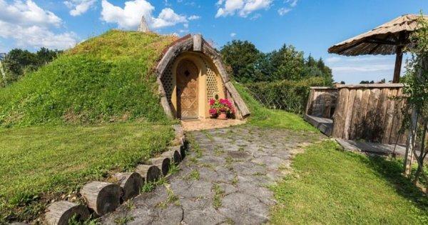 """Nhà hobbit dành cho người hâm mộ """"Chúa tể những chiếc nhẫn"""""""
