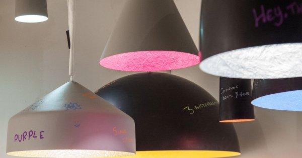 10 mẫu đèn nội thất đẹp tựa tác phẩm nghệ thuật