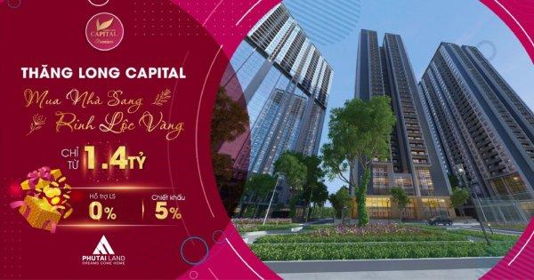 Gần 100 căn hộ tòa T4 Thăng Long Capital đã bán hết trong tuần ra hàng đầu tiên