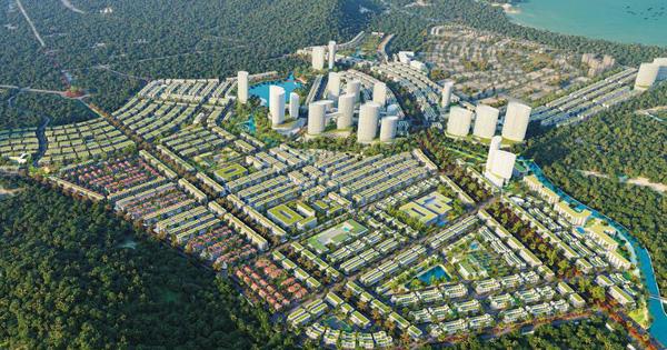 Tân Á Đại Thành kiến tạo hệ sinh thái kép đô thị tại Phú Quốc